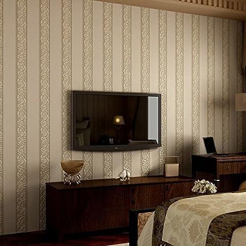 Simple modern Vertical stripes Nonwovens bedroom Full shop living room sofa TV Background wall wallpaper ,