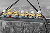 Despicable Me - Minions Lunch On A Skyscraper Maxi Poster der Grösse 61 x 91,5 cm