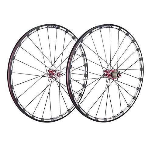 LIDAUTO Mountainbike-Felgen Carbon 5-Radnabe Super Smooth Wheel Laufradsatz Felge 29 Zoll,Black (29-zoll-felgen Mountainbike)