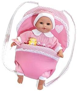 Arias 653661 - Muñeco Baby Llorón C/Portabebé 30
