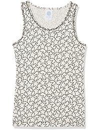 Sanetta Mädchen Unterhemd Shirt W/O Sleeves Allover