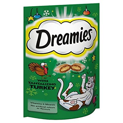 Dreamies Cat Treats with Tantalising Turkey, 60 g
