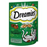 Dreamies Cat Treats with Turkey, 60 g
