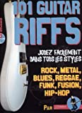 Rébillard : 101 Guitar Riffs (+1 CD) - Guitare Tab