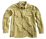 Robustes Outdoor Herrenhemd Overshirt in Braun, Mustard, Grün und Khaki, Langarm- Shirt von Kakadu Australia