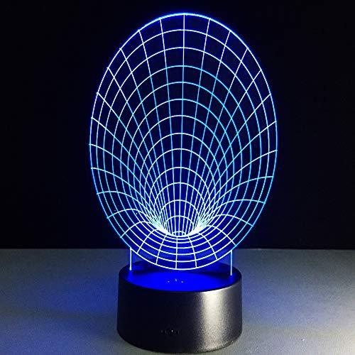 YDBDB Trompete 3D Led Tischlampe Usb Abstrakte 3D Nachtlicht Bunte Lava Lampe Für Party Dekoration Als Kinder Weihnachtsgeschenk Geschenk