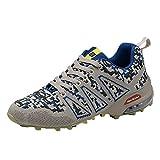 ABsoar Schuhe Herren SneakerOutdoor Bergsportschuhe Rutschfeste Sportschuhe Atmungsaktive Mesh Laufschuhe Gym Fitness Turnschuhe