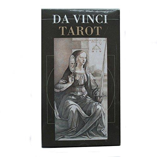 Baraja Da Vinci Tarot, Mazo de 78 Cartas con Instrucciones Multilingü