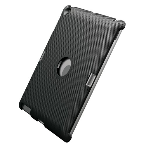 Meliconi Click Custodia per iPad 2/3/4, Carbonio