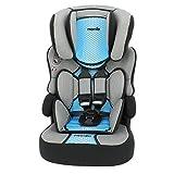 MyCarSit - Asiento de coche para niños (respaldo alto, 9 a 36 kg), color azul