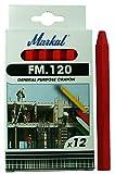 MARKAL 44010300 FM.120 Craies, Rouge (Pack de 12)
