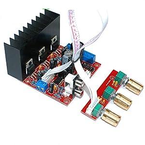 sourcingmap DC 12V 24V Hi-Fi Bluetooth Audio Stereo Leistung Digital Verst/ärker Brett Auto de