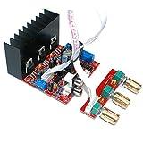 Zerone Digitalverstärker Board Platine 2.1 Mini Digital Verstärkerplatine 3 Kanal DIY Audio Stereo Subwoofer Verstärkermodul für Lautsprecher