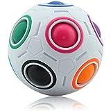 Magic Ball Puzzle Cube Coolzon® Pop Rainbow Magico Cubo Fidget Juguetes Anti Estrés para Niños Adultos Educación