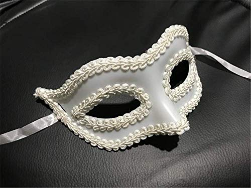 Tcbz Halloween Maske Gentleman Maske Maskenbär Herren Frau Weihnachten Masken Halloween Party Schwarz Masken Kostüm Party 3 - Herr Und Frau Elf Kostüm