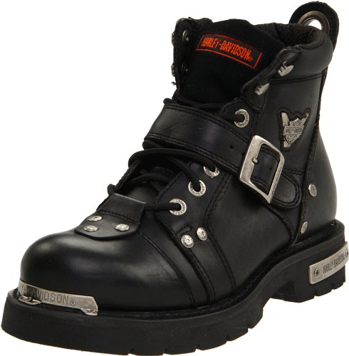 Harley-Davidson Men's Brake Buckle Boot Lace Up Riding Boots