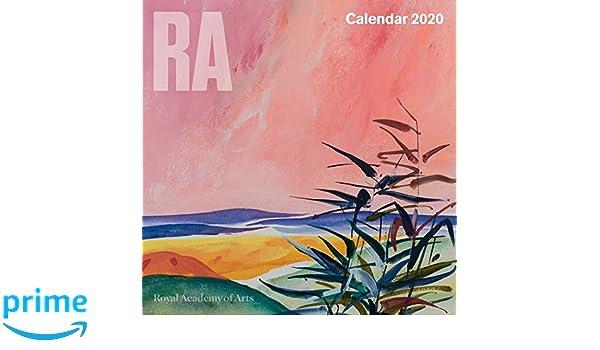 Uf Calendar 2020.Royal Academy Of Arts Wall Calendar 2020 Art Calendar Amazon Co