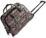 Best Wheel Luggages - Ladies Women's Fashion Butterfly Print Hand Luggage With Review