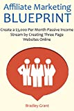Affiliate Marketing Blueprint: Create a $3,000 Per Month Passive Income Stream by Creating Three Page Websites Online (English Edition)