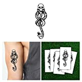 Harry Potter Death Eaters Dark Mark Tattoos (5pcs) for Cosplay Accessories and Dancing Party