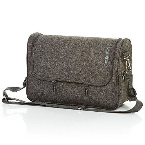 ABC Design 91299703 Changing Bag Classic Track Classic Changing Bag, Grey