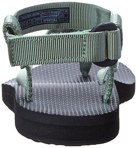 Teva Original Sandal W's Damen Sport- & Outdoor Sandalen Stone Green