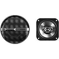 """Philips PHICSP415 - Altavoces coaxiales bidireccionales para Coche (10.2 cm, 4"""", 2 vías, 150 W) Color Negro"""