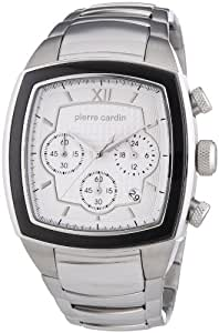 Pierre Cardin Herren-Armbanduhr General Chronograph Quarz Edelstahl PC104251F06