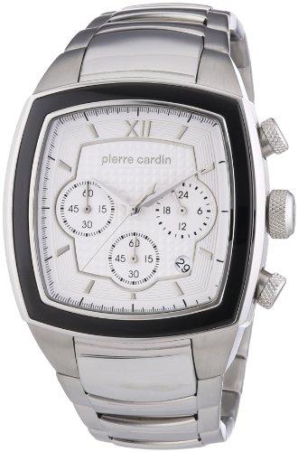 Pierre Cardin - PC104251F06 - Montre Homme - Quartz Chronographe - Chronomètre - Bracelet Acier Inoxydable Argent