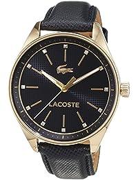 Lacoste Damen-Armbanduhr Analog Quarz Leder 2000933