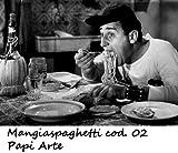 Mangiaspaghetti 02 Alberto Sordi Poster 35x50 Stampe Papi Arte Vendita Online Quadri Cinema Film Italiano