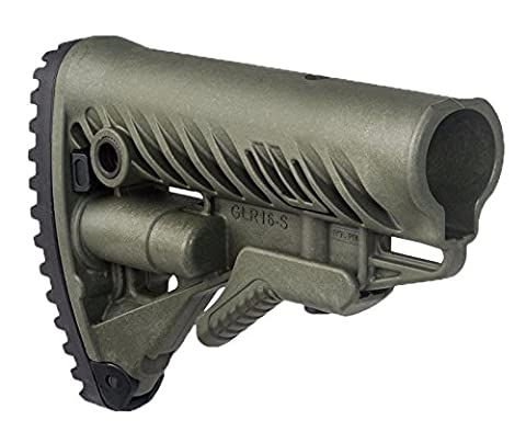 FAB Defence GLR-16 Buttstock - Olive Drab