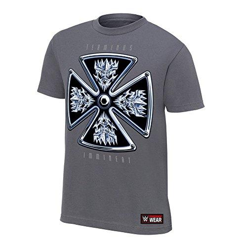 WWE Offizielles Triple H &Quot;Kündigung ist Drohende&Quot; Authentic T-Shirt Gr. Größe L, Grau