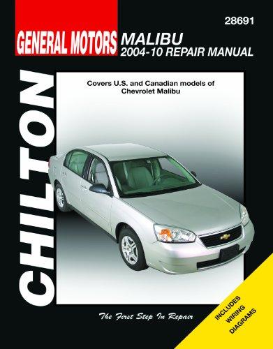 Chilton Total Car Care Chevy Malibu, 2004-2010 Repair Manual (Chilton's Total Car Care) (Chevy 2009 Malibu)