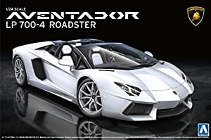 1/24 Super Car Series No.12 Lamborghini Aventador Lp700 4 Roadster