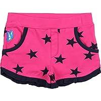 Zunstar Jane - Pantalones cortos de náutica para niña, color Rosa (Cerise/Navy), talla UK: Talla 98/104