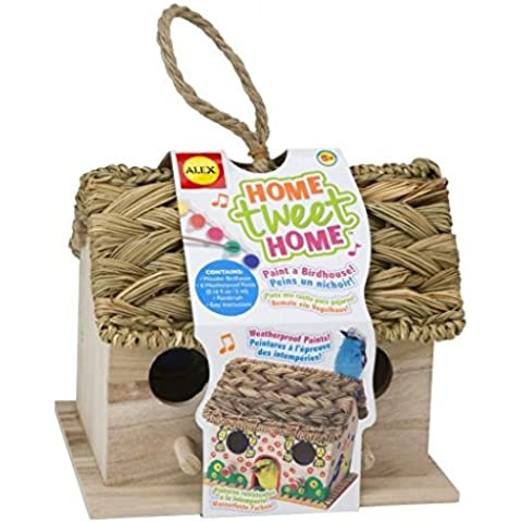 ALEX Toys Craft Home Tweet Home Birdhouse Kit by ALEX Toys