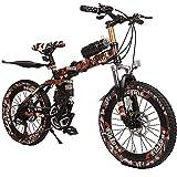 Wangkai Vélo Tout Terrain Amortisseur Hydraulique de Vélo de Montagne a l'avant et...
