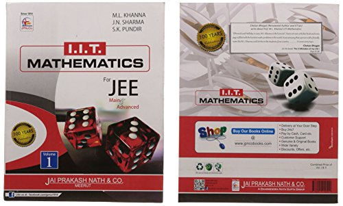 IIT Mathematics For JEE (Main & Advanced) (Set Of 2 Volumes) (Paperback)