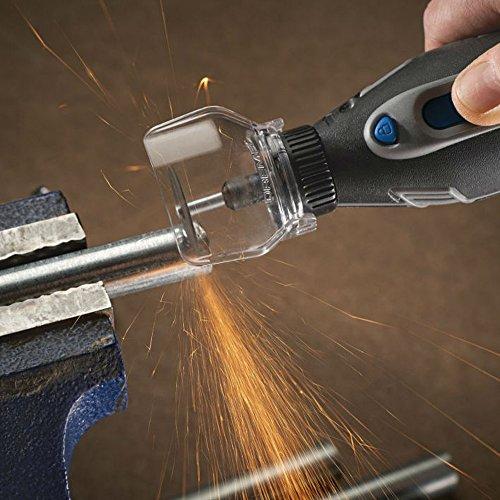 【 Best Deals für Weihnachten 】 origlam Sicherheit Schutzhülle transparent Cover Shield, Mini-Halterung Power Tool für elektrische Grinder, Dremel Grinder