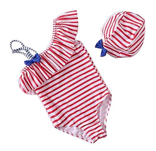 Baby Bademode Baby Bikini Kleinkind Mädchen Bademode [T]