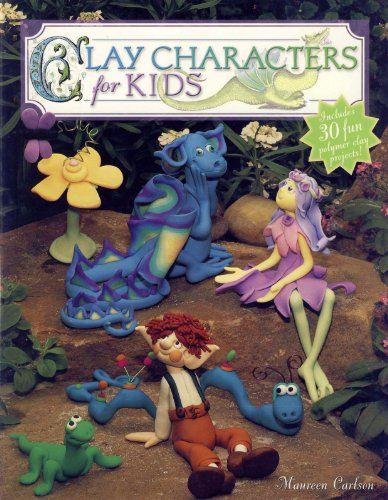 Clay Characters for Kids (English Edition)