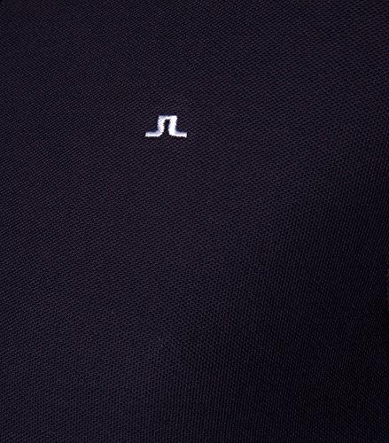 J.Lindeberg Herren Poloshirt Rubi Navy Navy