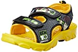 Ben10 Boy's Sandals Yellow Synthetic Sandals and Floaters - 7C UK/26 EU