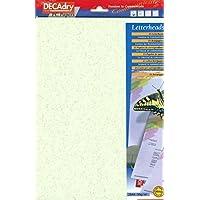 DECAdry fibras verde temáticas de papel con membrete papel A4papel de escribir