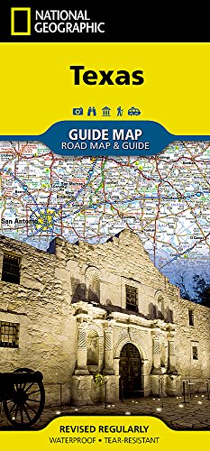 Texas (National Geographic Destination City Map)