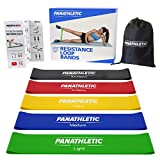 Weerstandsbanden - Fitnessbanden, Set van 5, met Handleiding en eBook in het Nederlands – 5x gymnastiekband, body resistance band, powerband, mini fitnesselastiek