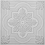 "Ekena Millwork CT24X24AD 24""W x 24""H x 3/4""P Adonis Ceiling Tile"
