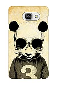 TEMPER Design Of Human Cat 3D Back Cover for Samsung Galaxy A7 2016