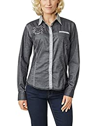 Pioneer Damen Regular Fit Bluse 1711 3530